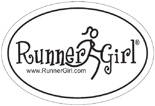 Runner girl stick figure tattoo